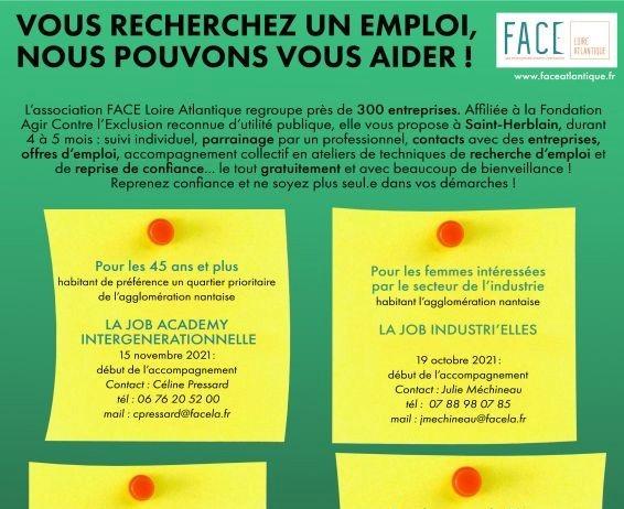 Vous êtes en recherche d'emploi, nous pouvons vous aider !