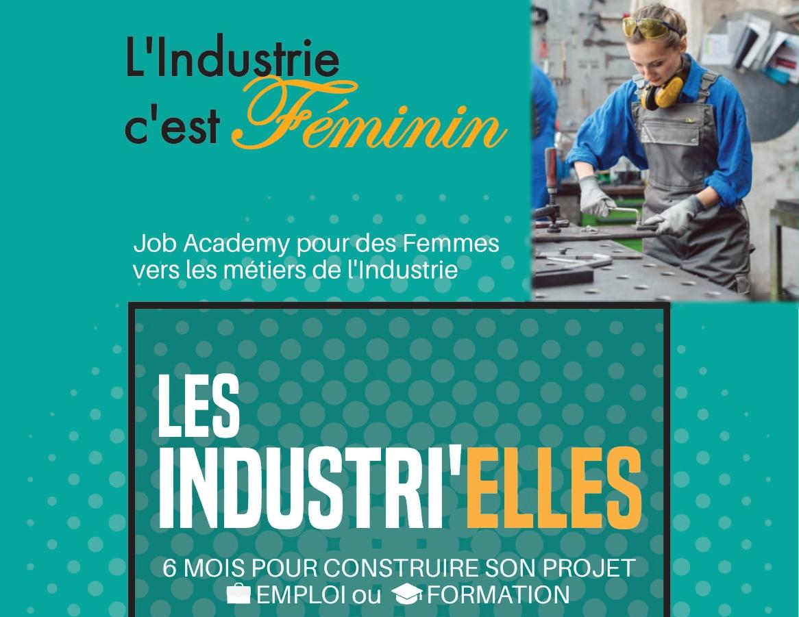 Intéressée par le secteur de l'industrie ? la job Les Industrielles est pour vous !