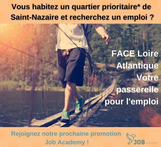 Vous habitez un quartier prioritaire de Saint-Nazaire ? Rejoignez la job academy !