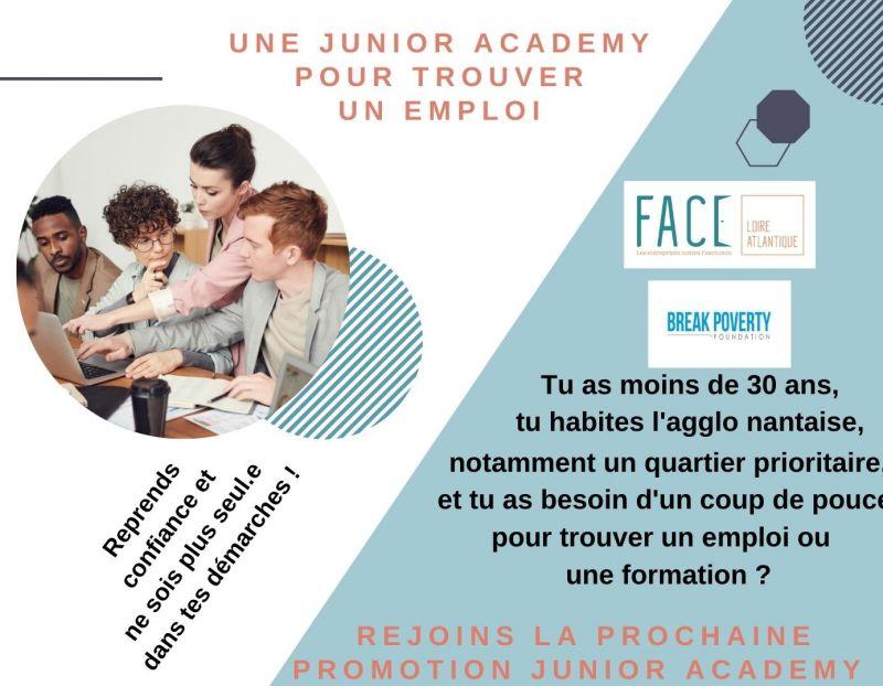EMPLOI ! Une job Academy pour les Juniors !