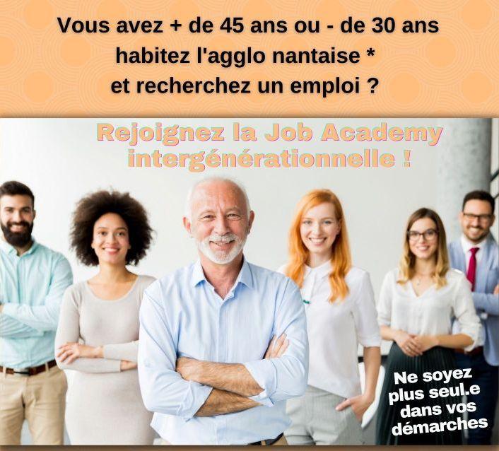 Rejoignez la job academy intergénérationnelle de Nantes !