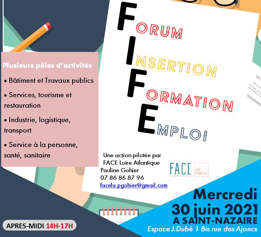 30 juin après midi : un forum à Saint-Nazaire pour trouver un emploi ou une formation