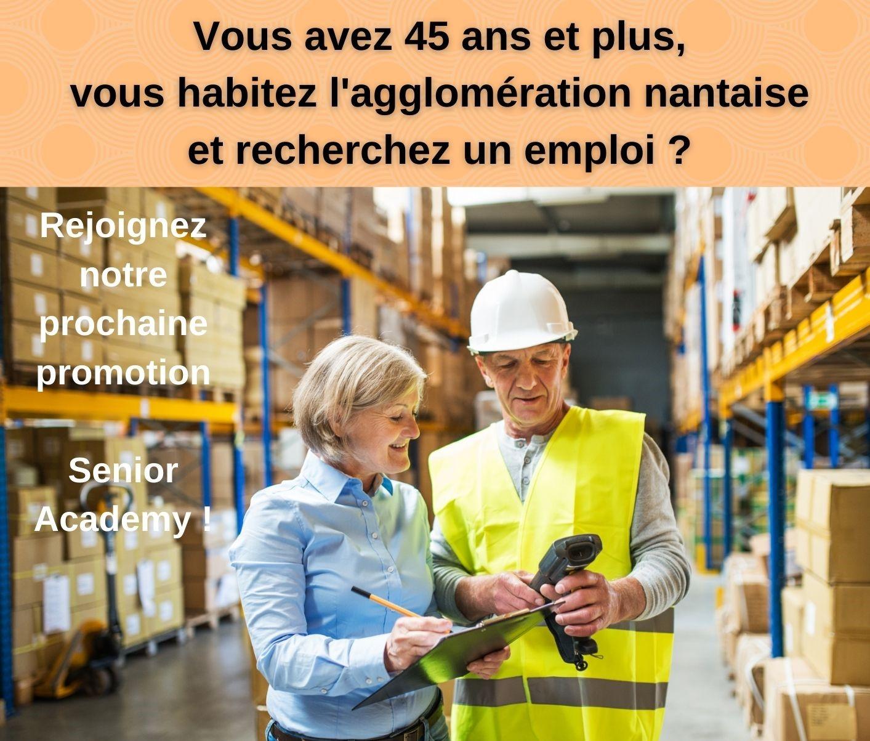 Vous êtes en recherche d'emploi et vous avez plus de 45 ans ? Contactez-nous !