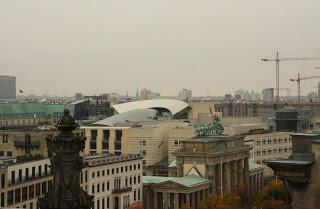 Blick vom Dach des Bundestages