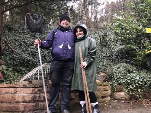 Ronny und Diana Schwalbe