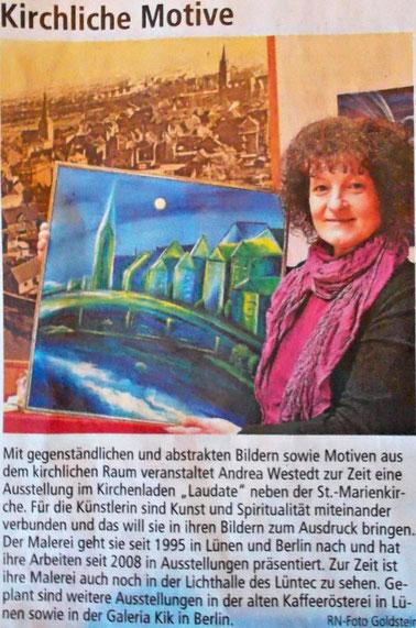 Ausstellung in der Laudate / Lünen