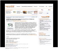 Grafik: Webscreen - OPEN PR Pressemitteilung, Wulfgramm Konzept UG (haftungsbeschränkt), Hamburg