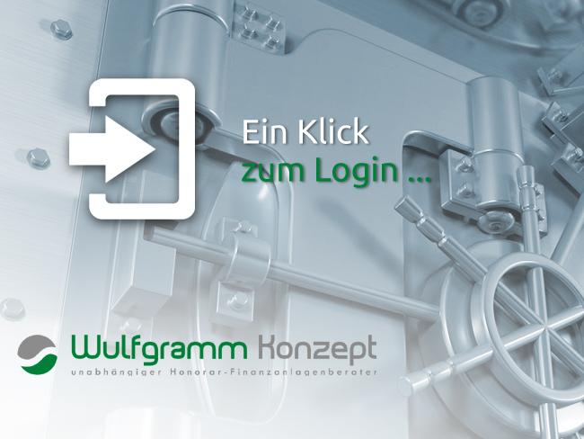 """Grafik/Foto: """"Ein Klick zum persönlichen Depot-Login"""", (Quelle: www.pixabay.com) - Dipl.-Kfm. Andreas Wulfgramm"""