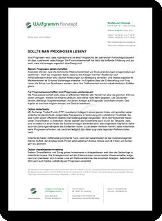 """Grafik: Preview PDF """"SOLLTE MAN PROGNOSEN LESEN?"""" - NEWS von Wulfgramm Konzept UG (haftungsbeschränkt), Hamburg"""