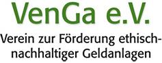Logo von VenGa e.V. - Verein zur Förderung ethisch- nachhaltiger Geldanlagen