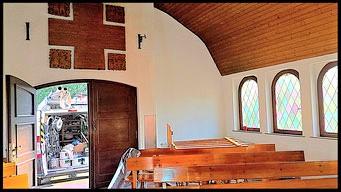 Kapelle: Innenanstrich Silikatfarbe