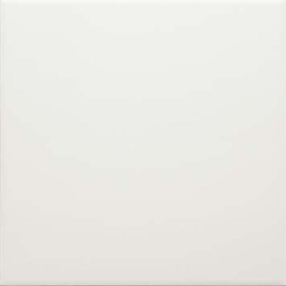 Carreau de ciment uni Bréhat blanc 20x20cm