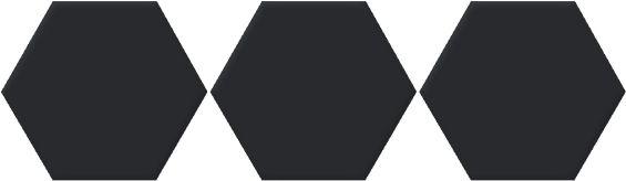 Carrelage hexagonal vannes