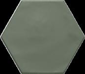 Carrelage hexagonal grès cérame Green