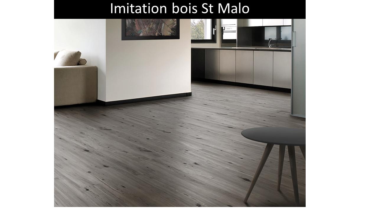Carrelage imitation bois grigio St Malo