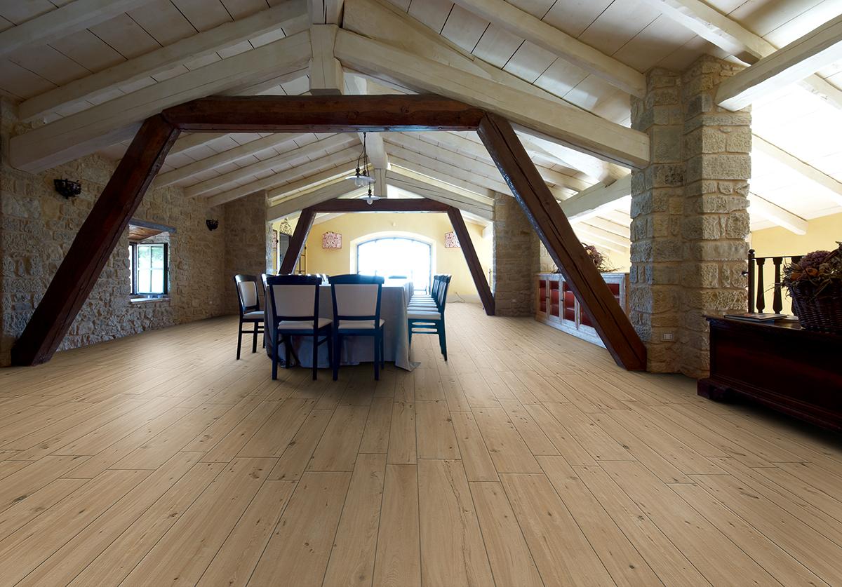 carrelage imitation bois pour chambre St Malo