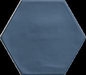 Carrelage hexagonal grès cérame Navy