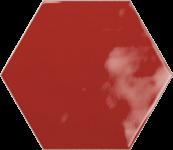 Faience hexagonal la trinité sur mer Red