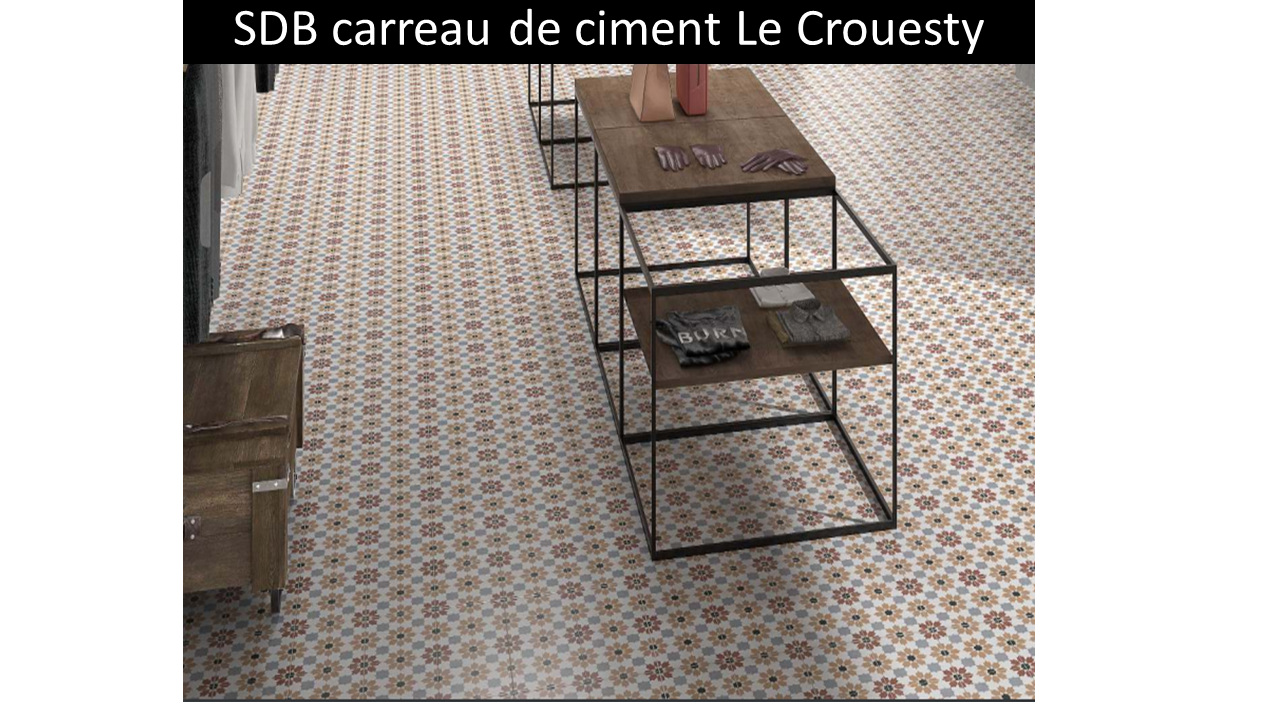 Carreau de ciment Le Crouesty