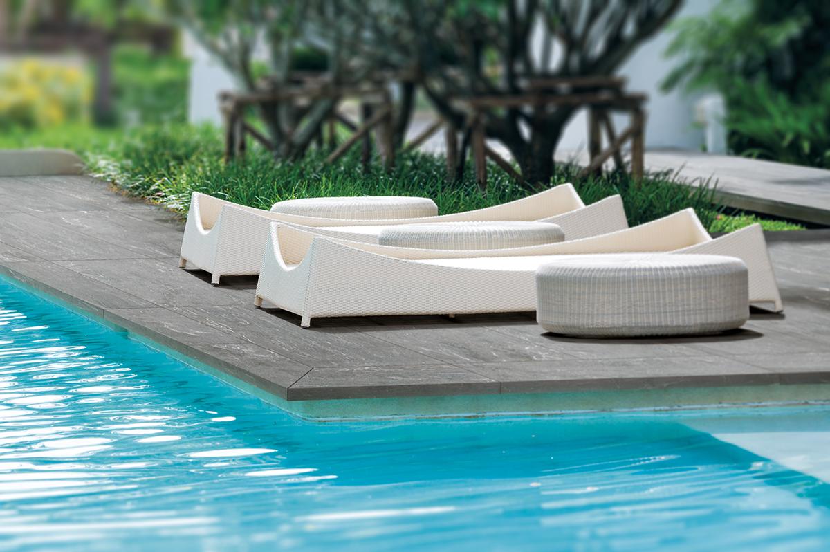 Ciment d' Arradon margelle pour piscine