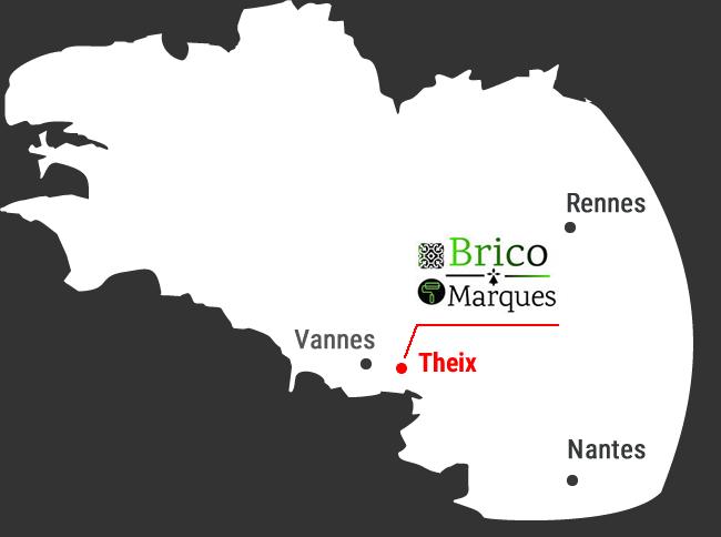 Magasin de carrelage dans le Morbihan  Vannes Theix