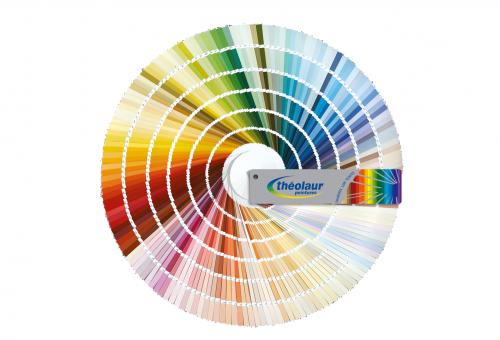 Plus de 1000 teintes de peinture disponibles