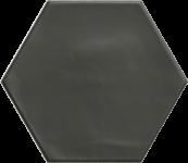 Carrelage hexagonal grès cérame Black