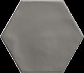 Carrelage hexagonal grès cérame Grey
