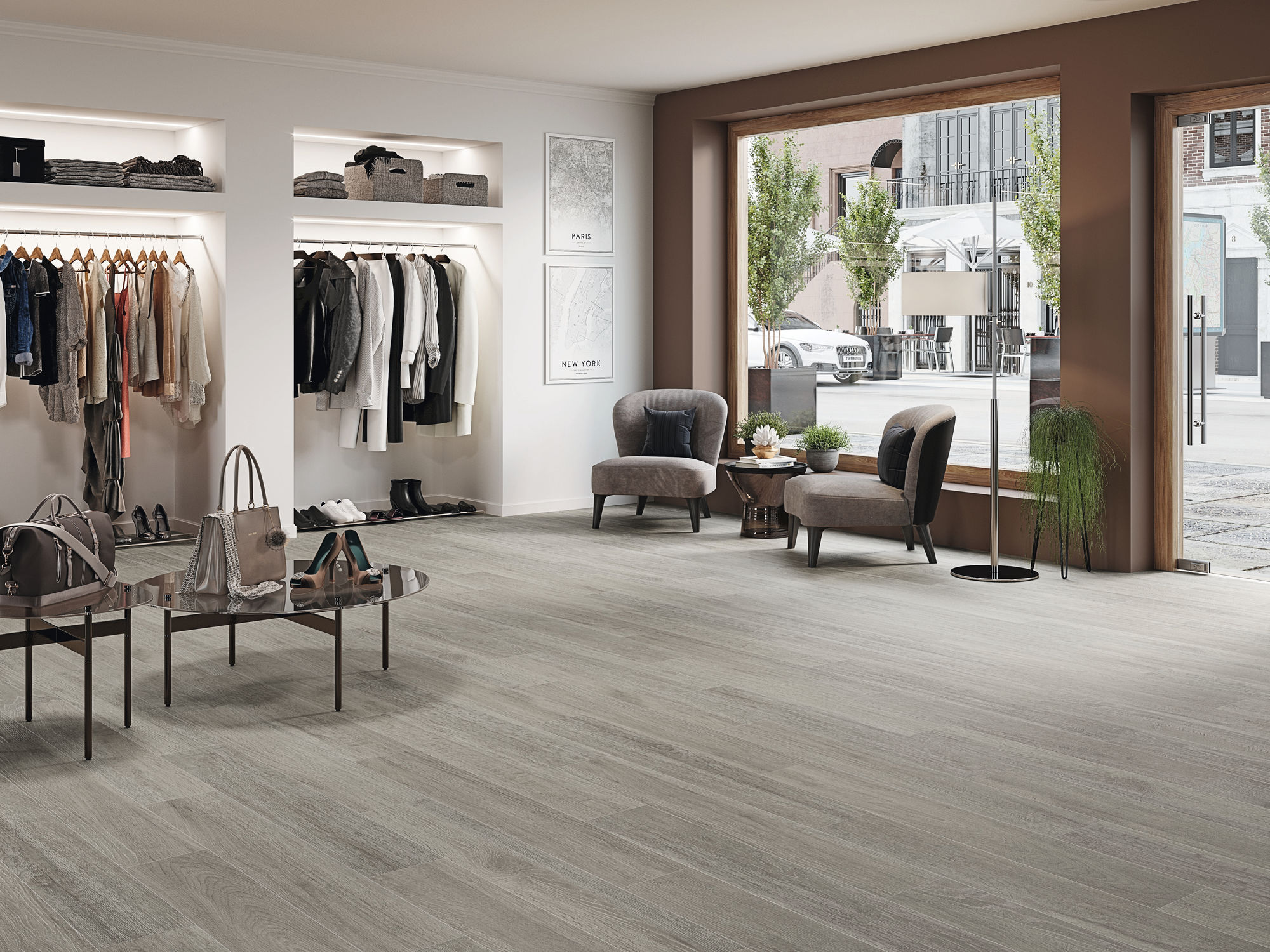 carrelage imitation bois gris 20x120