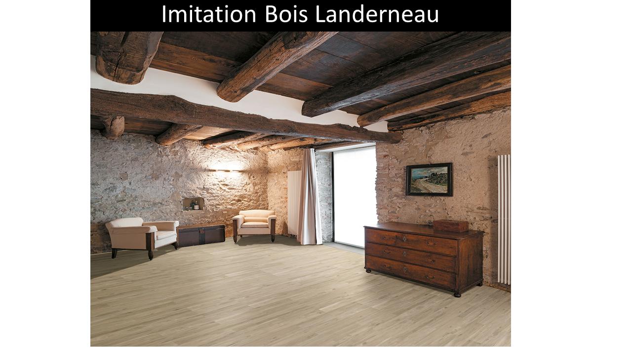Carrelage imitation bois Landerneau pour chambre