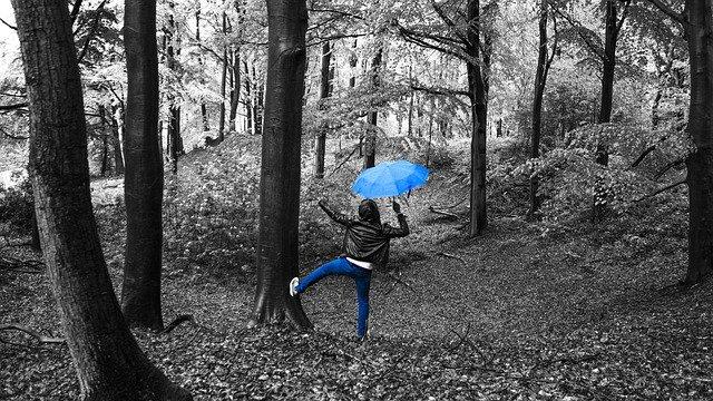 November Blues  - oder «Leben heisst nicht abzuwarten, dass der Sturm vorüberzieht,   sondern Lernen im Regen zu tanzen»