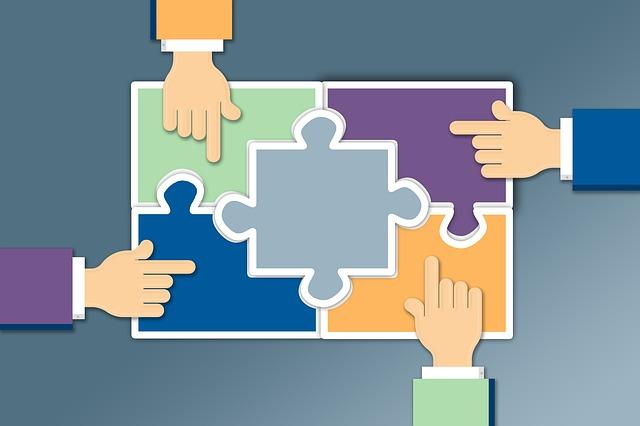 Teilen und Kooperieren sind die Schlüssel des Erfolgs