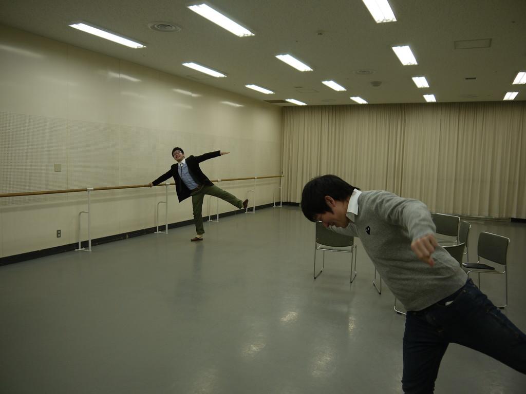 バレエは無理みたいです。