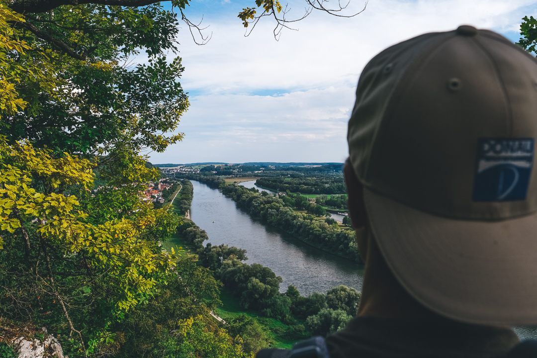 Blick auf die Donau © Tourismusverband Ostbayern e.V., @well_outside