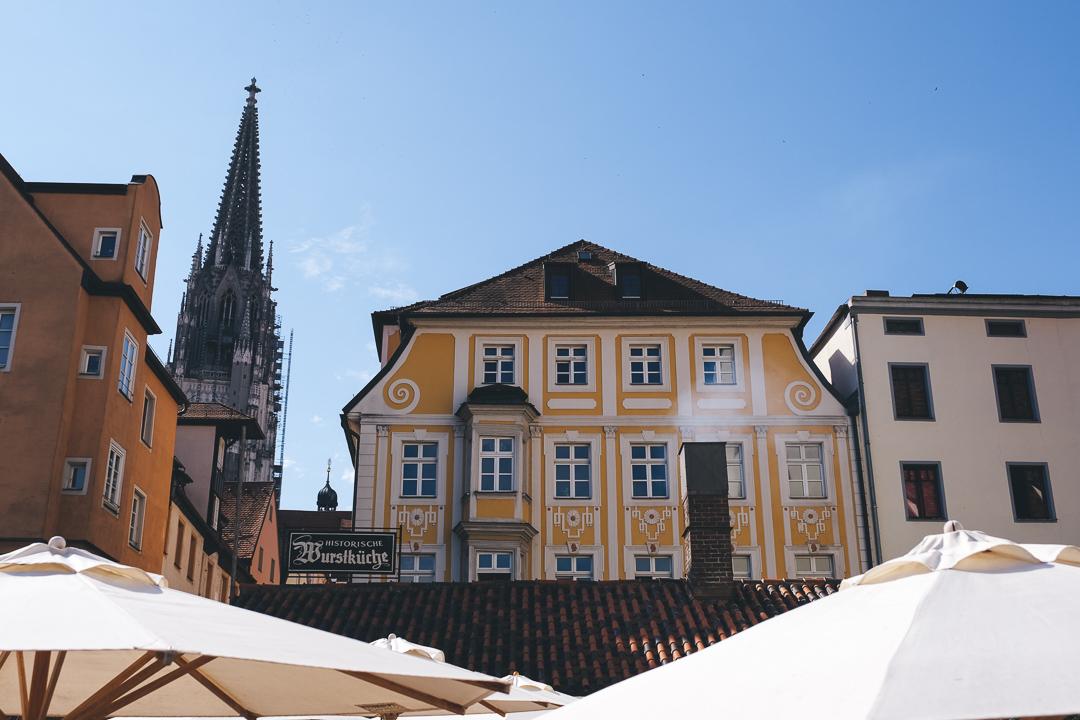 Blick auf den Regensburger Dom St. Peter, © Tourismusverband Ostbayern e.V., @well_outside