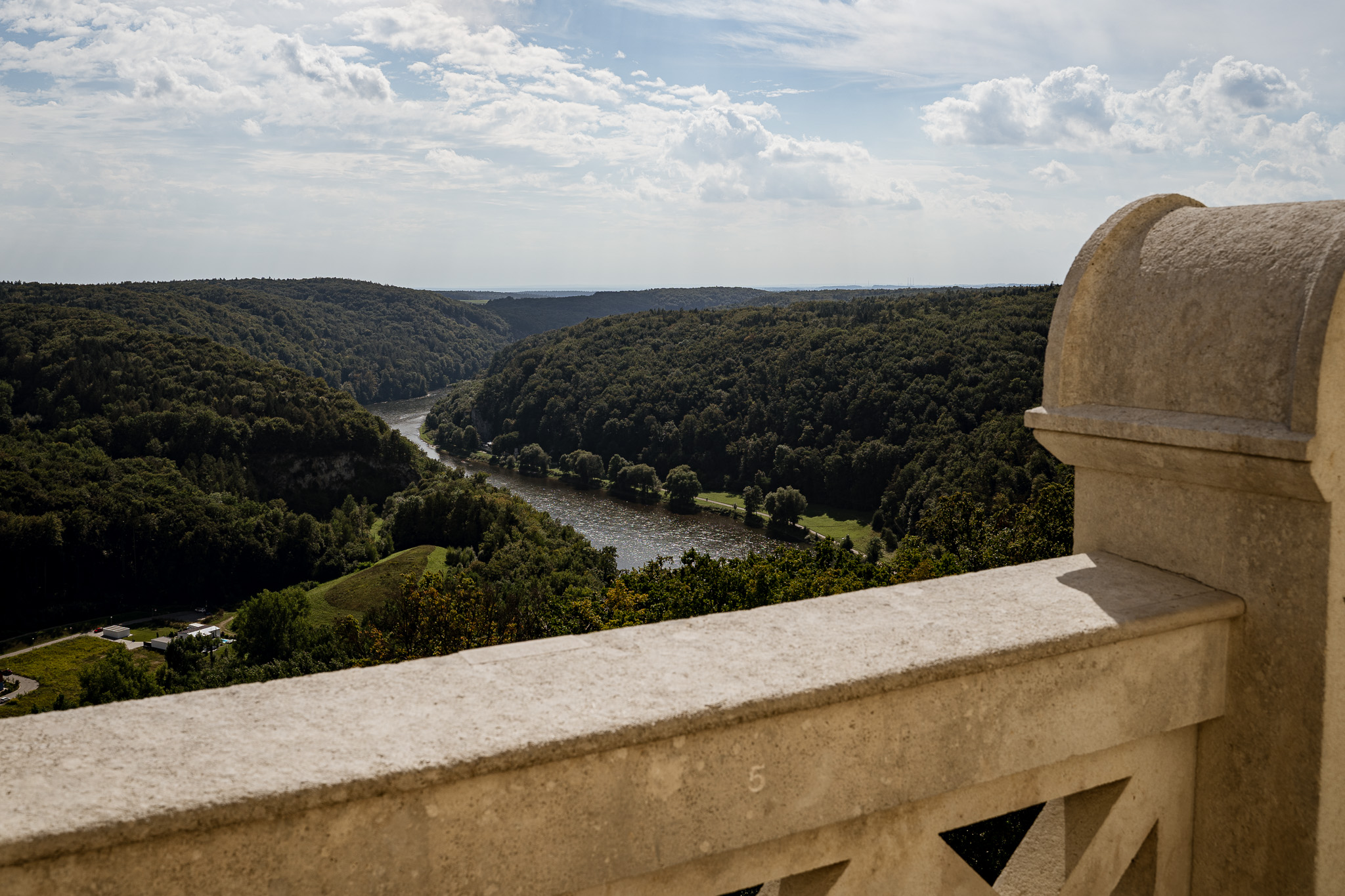 Ausblick von der Befreiungshalle Kelheim, © Tourismusverband Ostbayern e.V., Claudia Schaftner