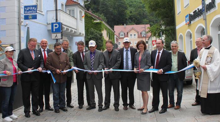 Eröffnung des Donau-Panoramawegs in Wörth a. d. Donau
