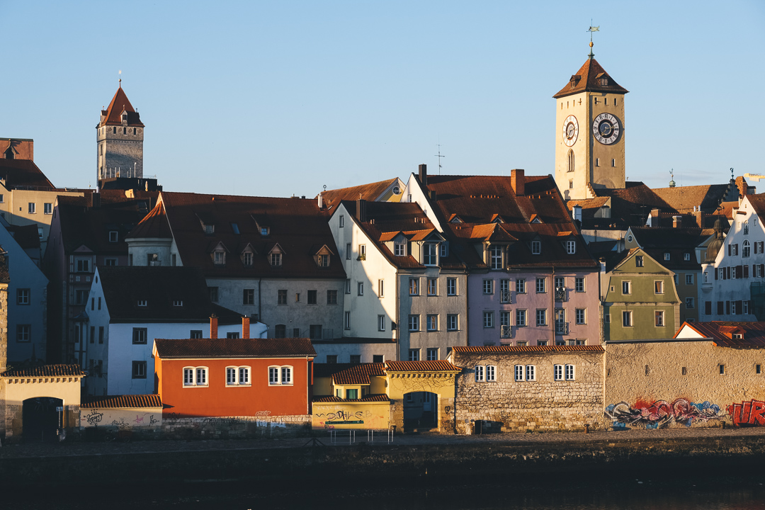 Blick auf die UNESCO Welterbestadt Regensburg, © Tourismusverband Ostbayern e.V., @well_outside