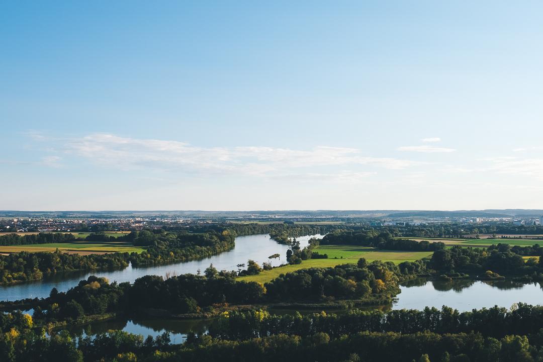 Blick über die Donau, © Tourismusverband Ostbayern e.V., @well_outside