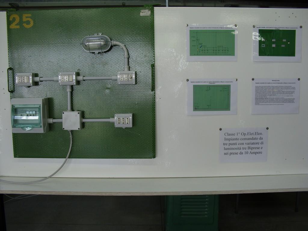 impianto luce - classe 1