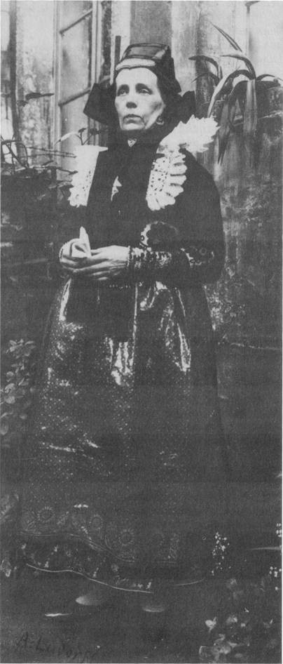 Holzhauser Tracht 1905