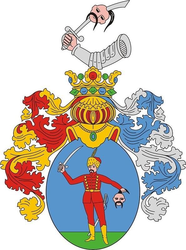 Герб венгерского города Хайдунанаш (Hajdúnánás)