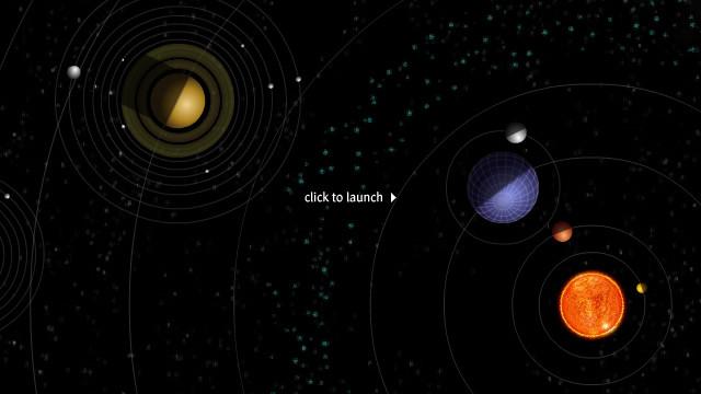 Солнечная система в динамике