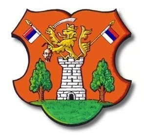 Герб села Мокрин (Сербия, край Воеводина).