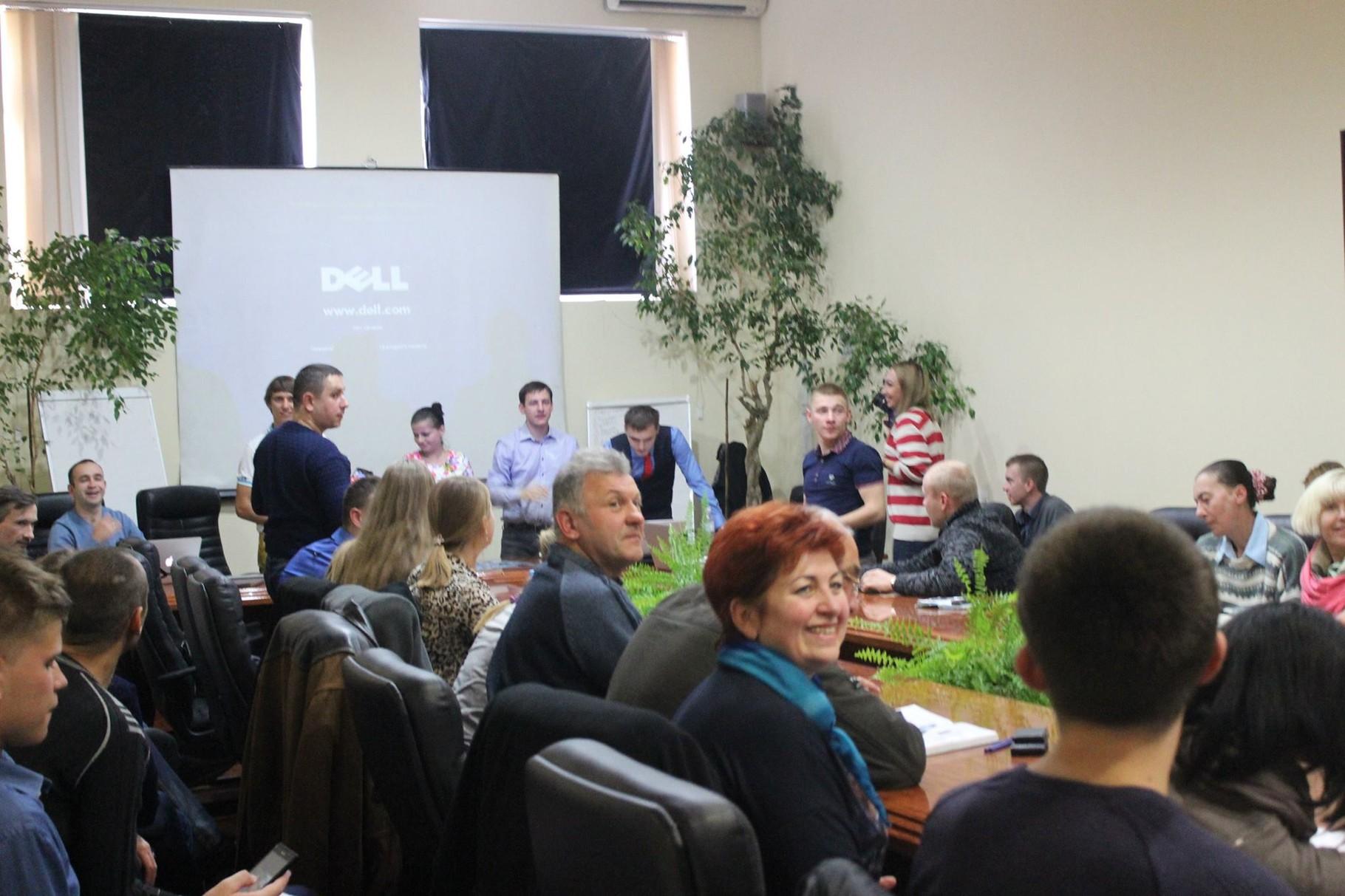 """Конференц-зал на 50 осіб.""""СВ-Клуб"""" м.Хмельницький"""