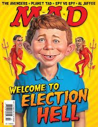 La copertina di MAD