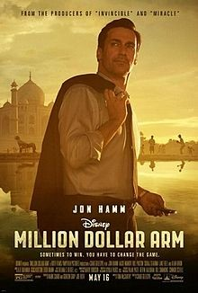 "La locandina del film ""Million Dollar Arm"""