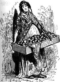 La venditrice ambulante (Gustave Dorè)