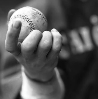 Eddie  Cicotte's knuckleball grip