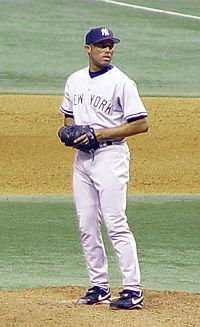 Mariano Rivera in posizione fissa